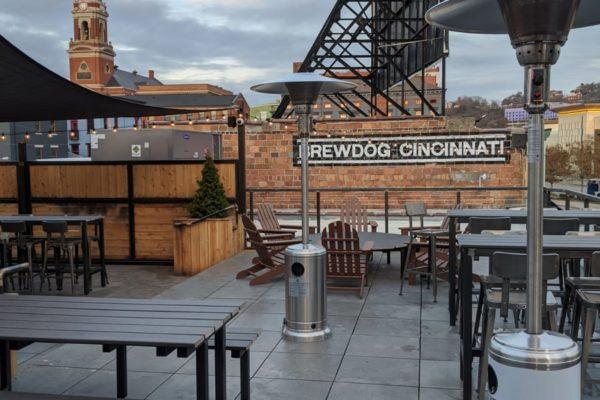 Brewdog Cincinnati rooftop