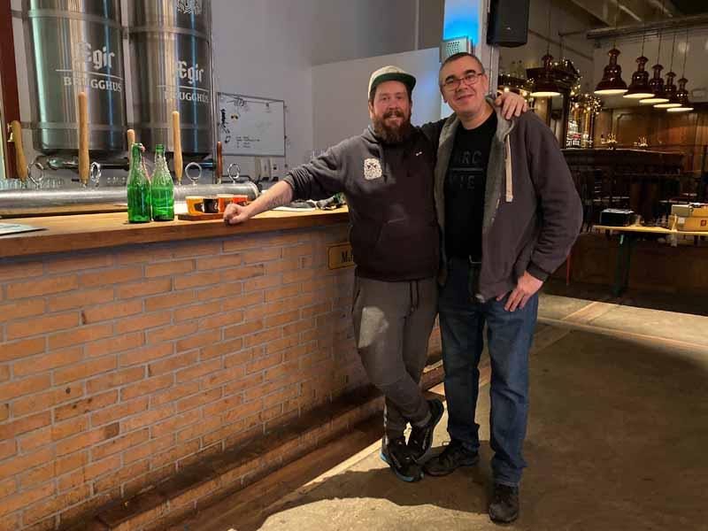 Aegisgardur brugghus brewery panimo