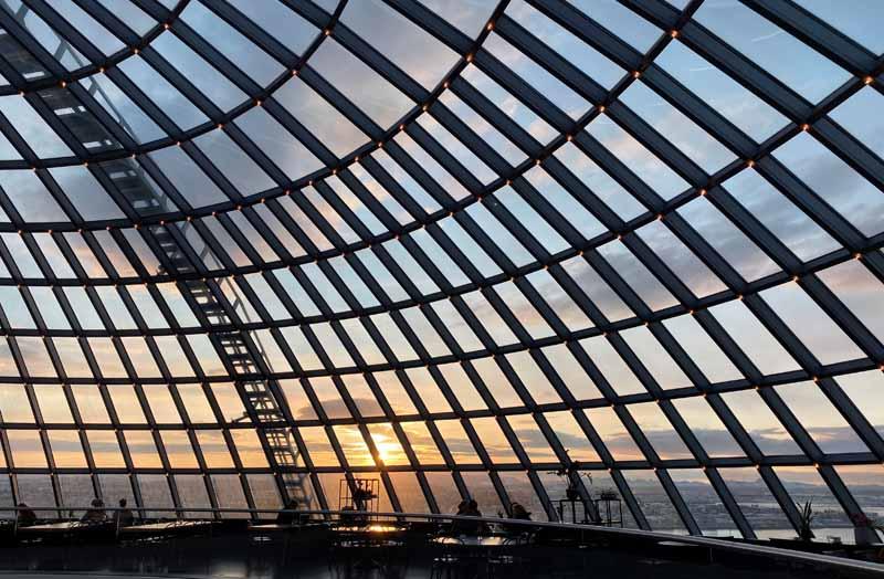 Perlan glass roof lasikatto Reykjavik
