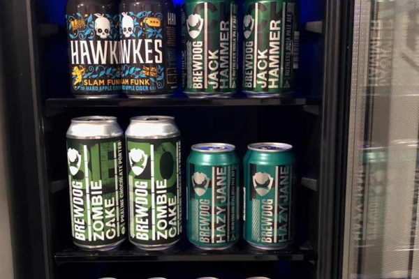 DogHouse shower fridge suihku jääkaappi BrewDog BrewMaster