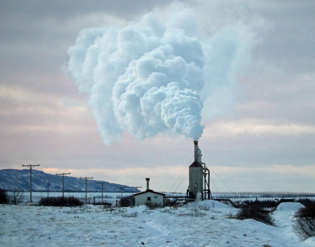 Lämpövoimala Islantilaiseen tapaan