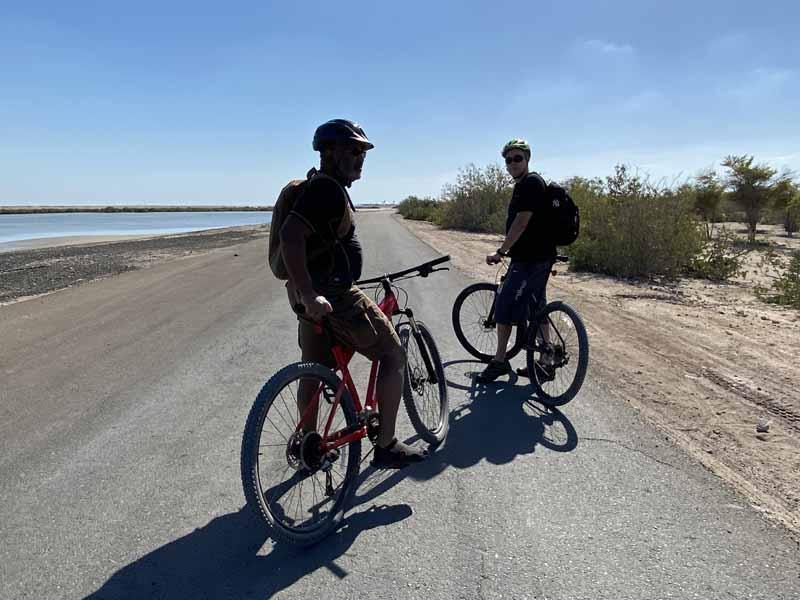 Sir Bani Yas mountain biking