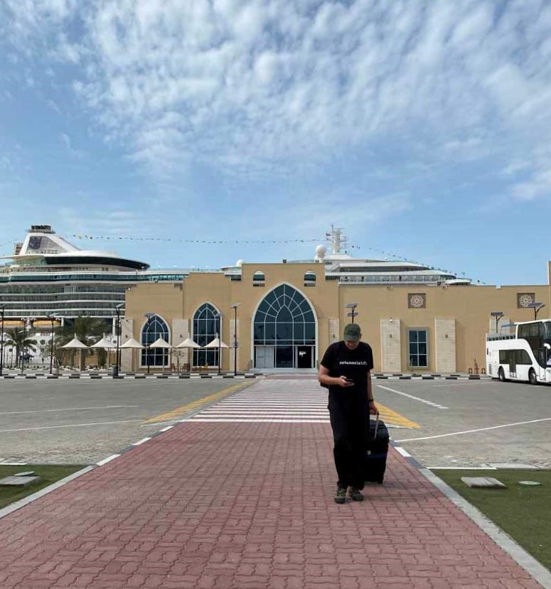Dubai Port Rashid cruise terminal