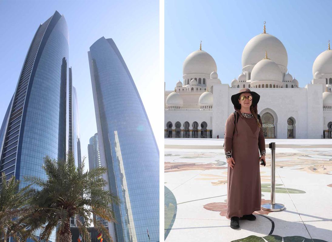Abu Dhabi Etihad towers Grand Mosque sheik Zayed