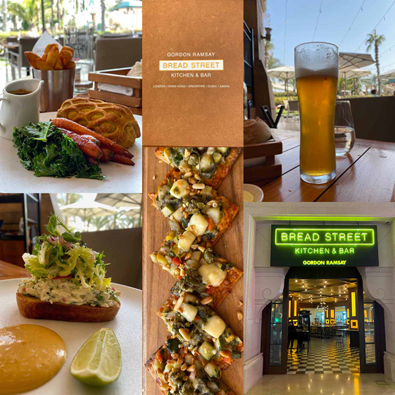 lounas Bread Street Kitchen Bar Jumeirah Dubai lunch