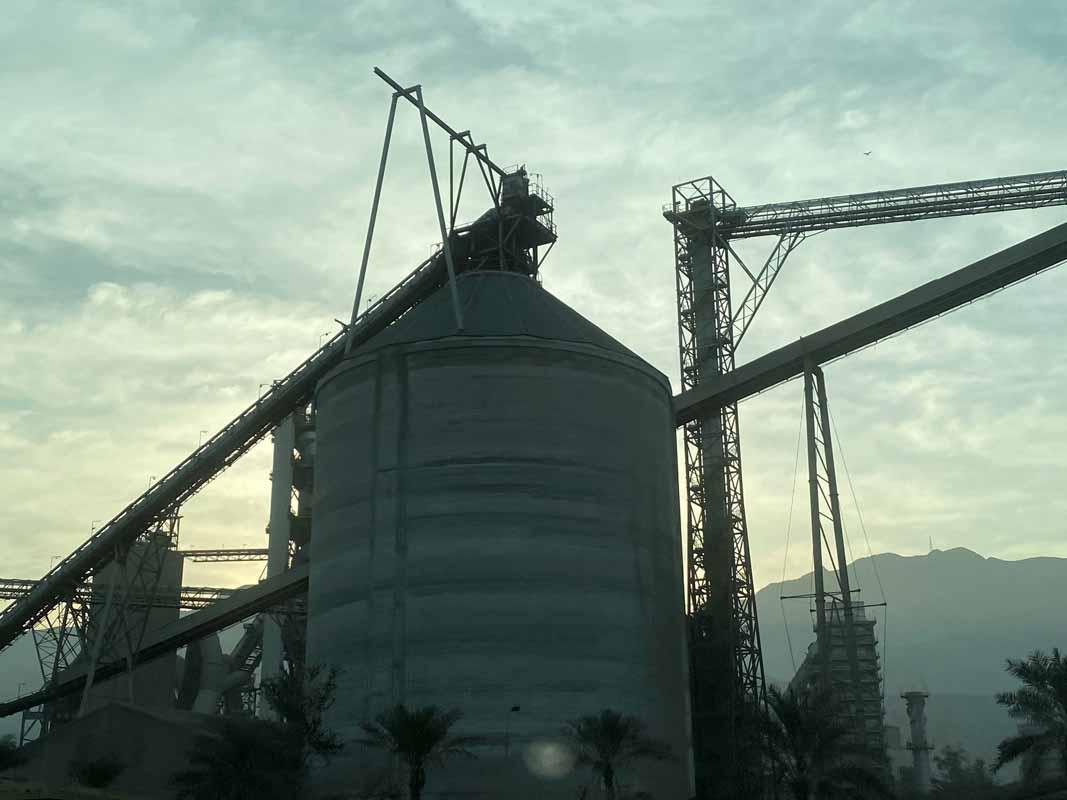 öljysäiliö Oman oil tank
