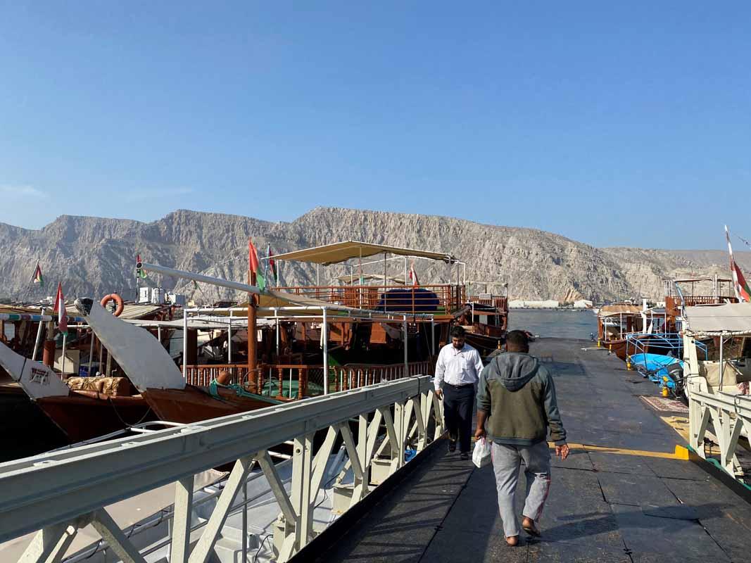 Khasab Oman satama