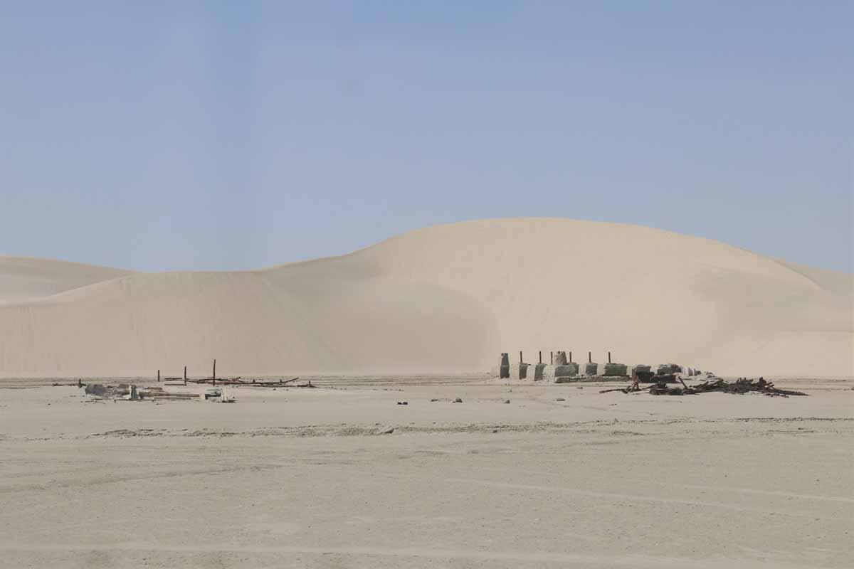 aavikko rauniot Qatar desert ruins