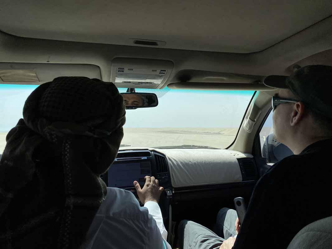 aavikko ralli Qatar desert rally Toyota Landcruiser 4wd