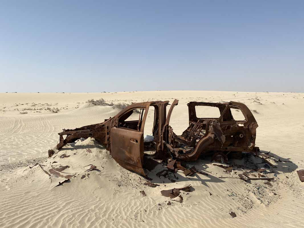 aavikko romu Qatar desert