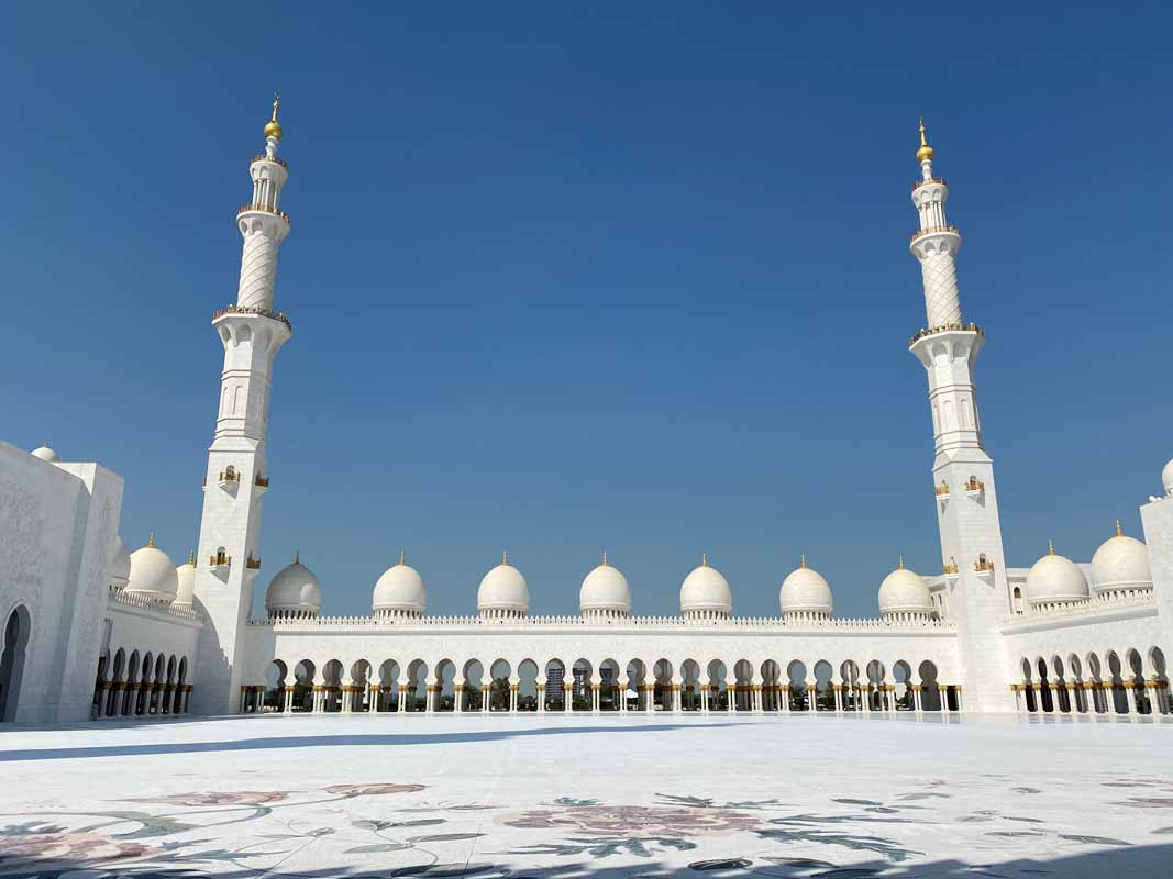 Sheik Zayed Mosque Abu Dhabi
