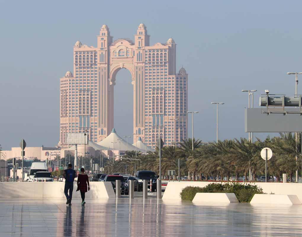 Abu Dhabi hotelli Al Marina hotel