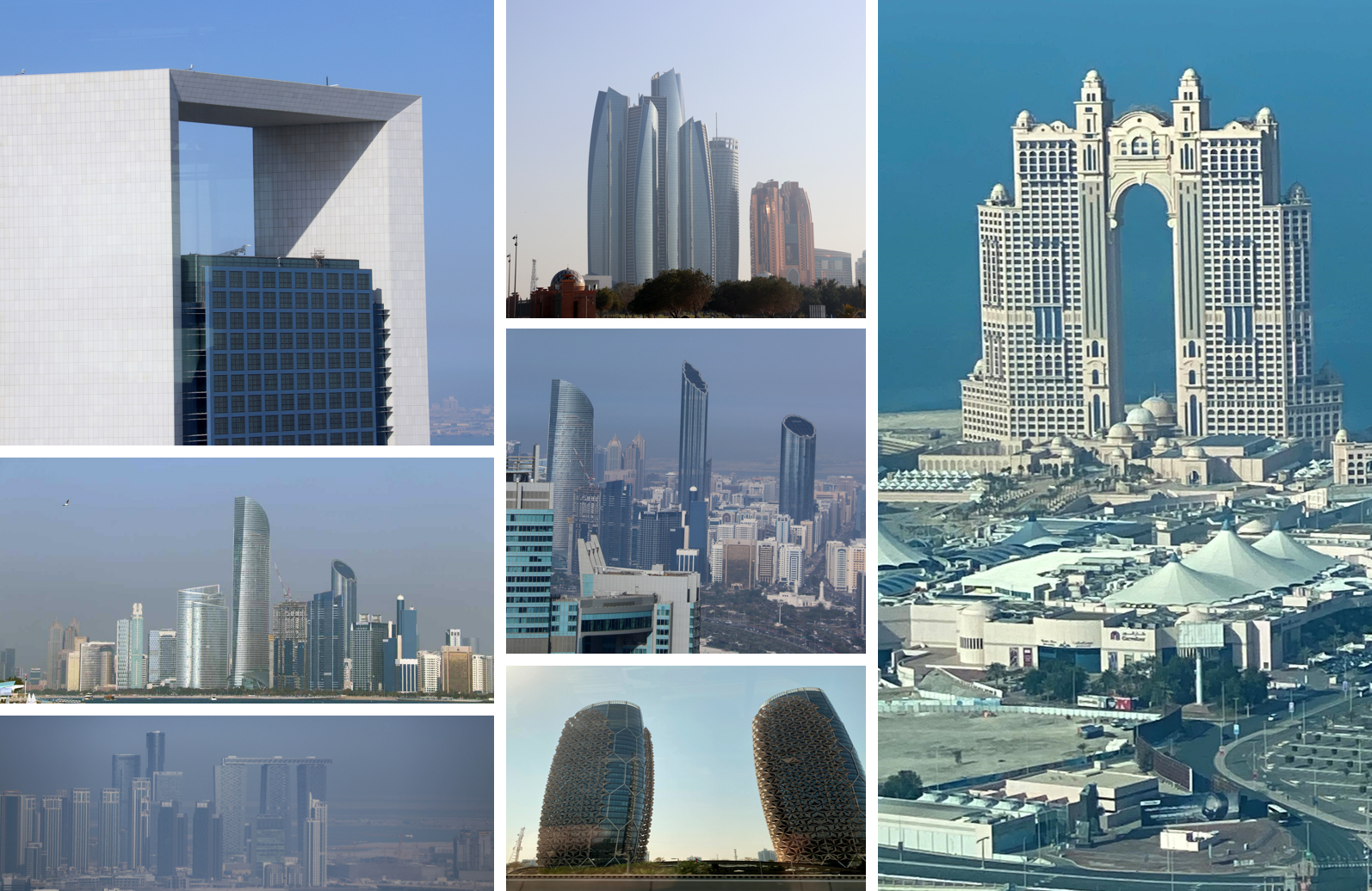 Abu Dhabi pilvenpiirtäjä skyscraper