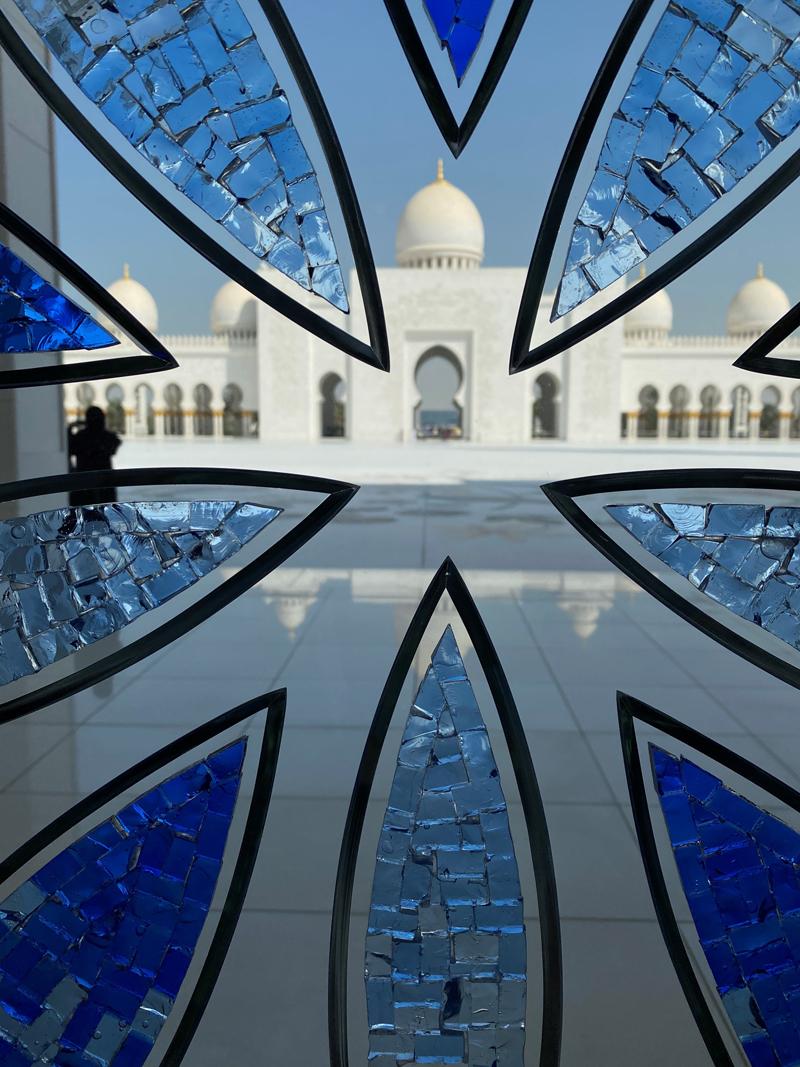 Abu Dhabi sheik Zayed moskeija mosque