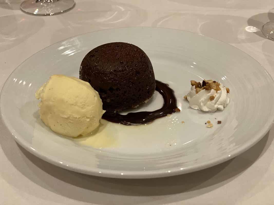 Jewel of the Seas jälkiruoka dessert chocolate icecream