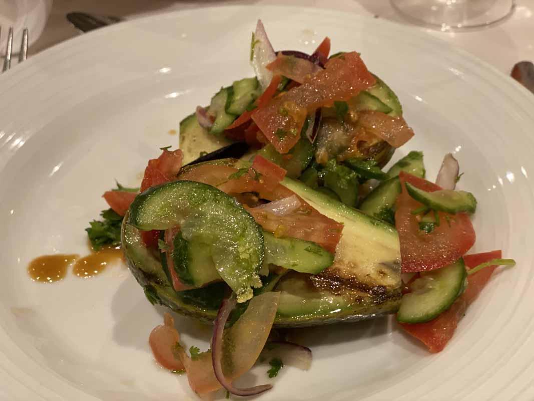 Jewel of the Seas kasvis vegetarian