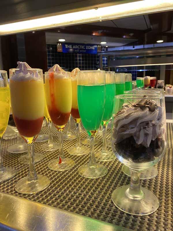 Jewel of the Seas buffet jälkiruoka dessert