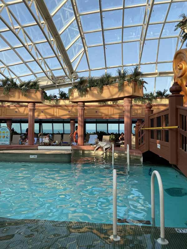 Jewel of the Seas kylpylä spa