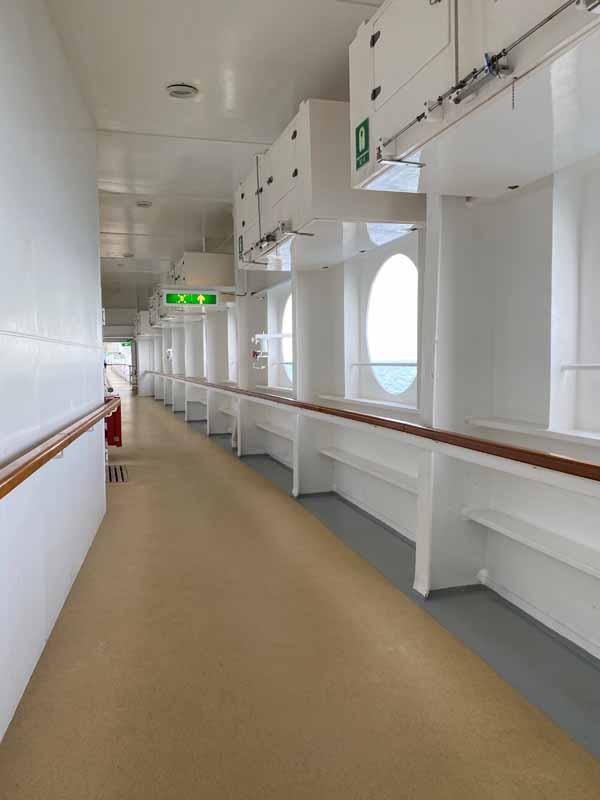 Jewel of the Seas ulkoilukansi deck