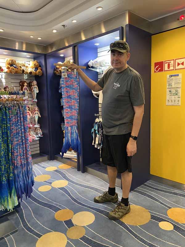 Jewel of the Seas merenneito pyrstö mermaid tail stocking IlkkaPlaysPokemon