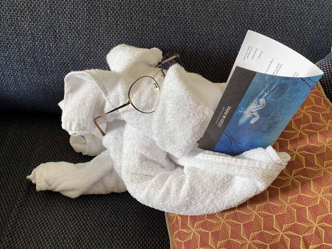 Jewel of the Seas Bilal pyyhe eläin koira towel animal