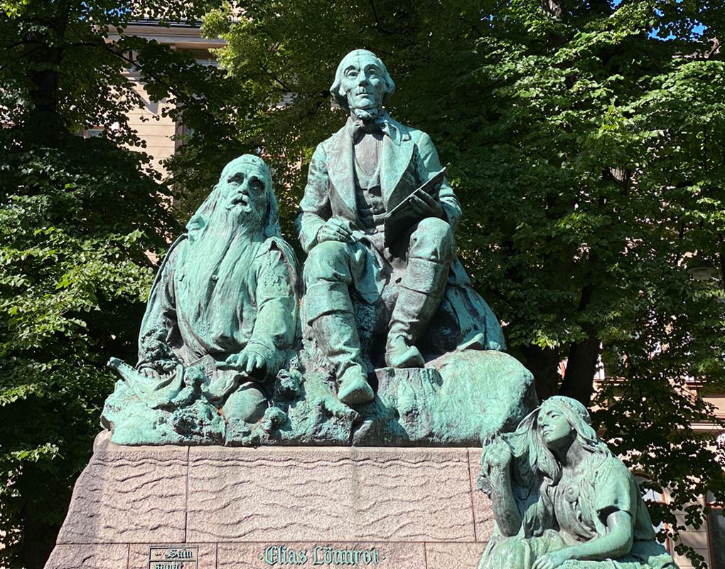 Kalevala Elias Lönnrot Väinämöinen