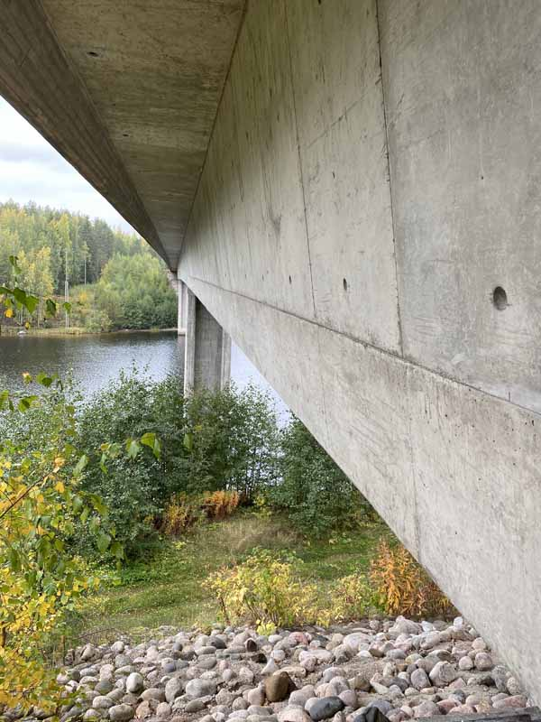 Vuoksensalmensilta Vuoksensalmi silta bridge