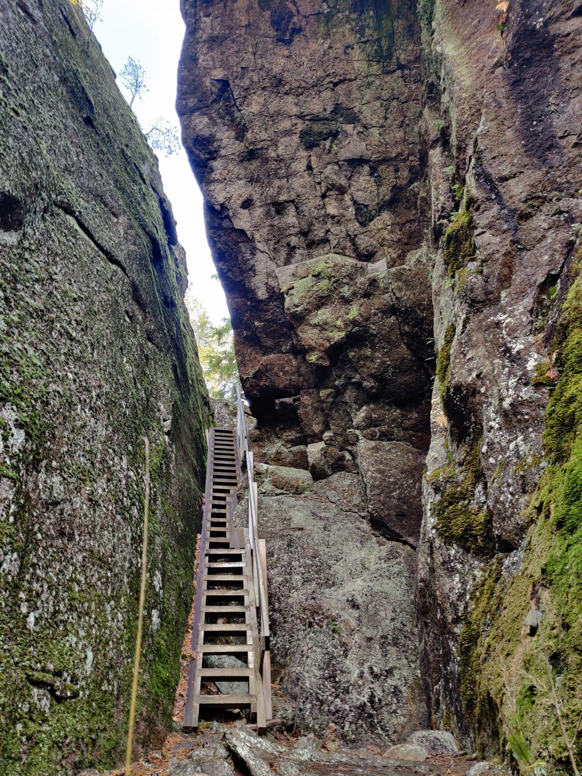 Rapalan kallioluolat kalliot portaat Rapala