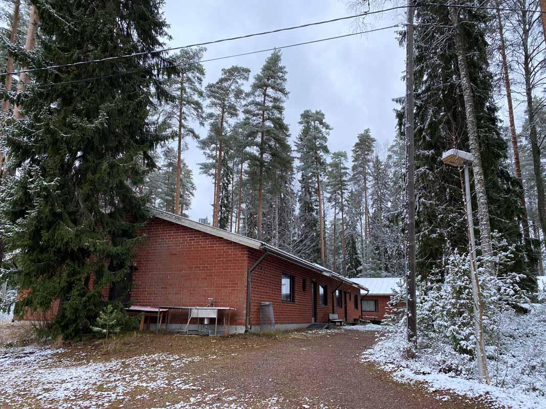 rivitalot Eräkeskus Metsäkouluntie
