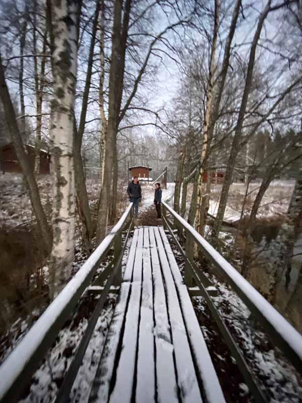 laituri Eräkeskus Metsäkouluntie Liesjärvi Tammela