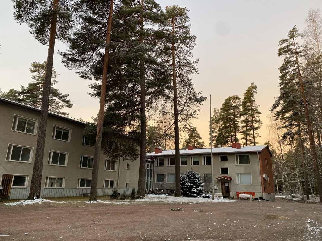 Eräkeskus Metsäkouluntie Liesjärvi Tammela