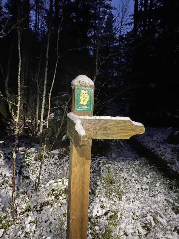 Ilvesreitti Liesjärvi Tammela