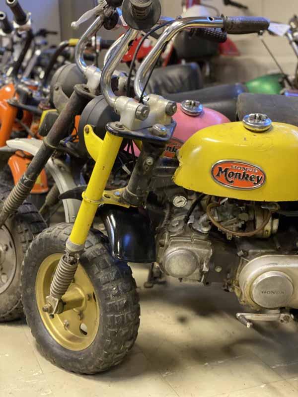 Honda Monkey mopomuseo