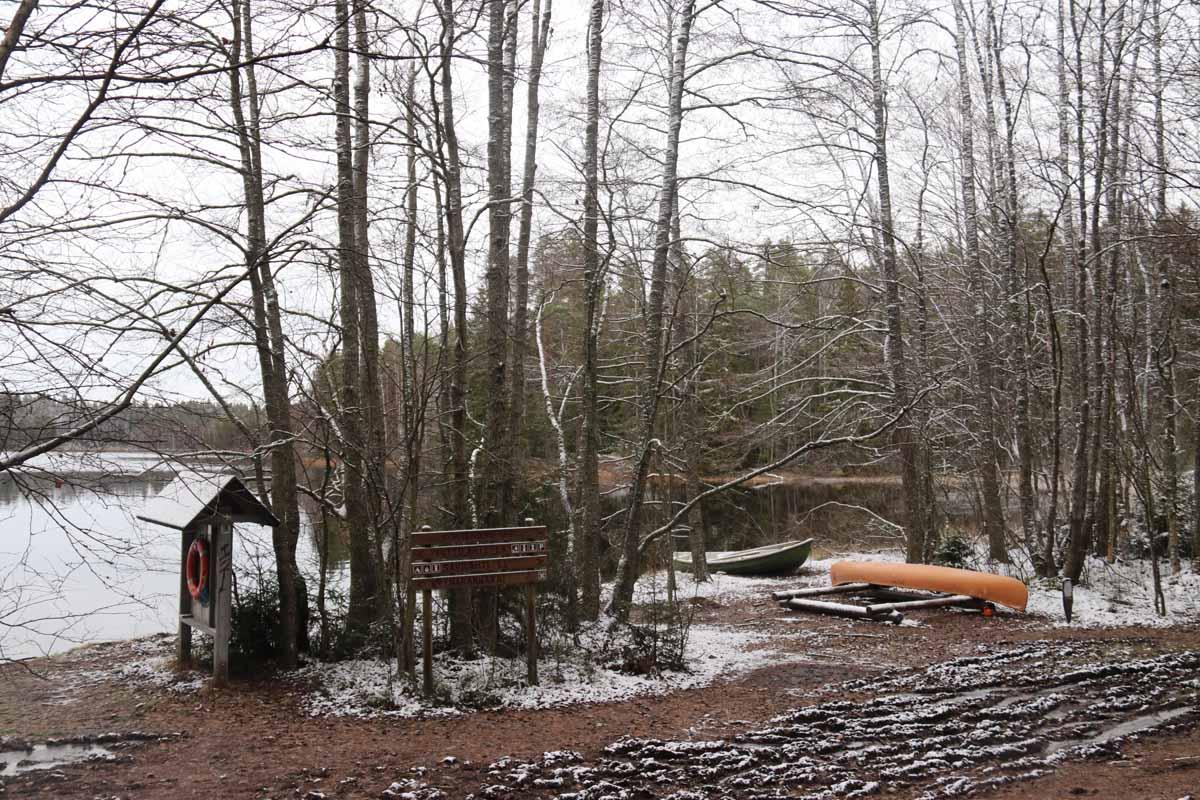 Kopinlahti Liesjärven kansallispuisto Tammela