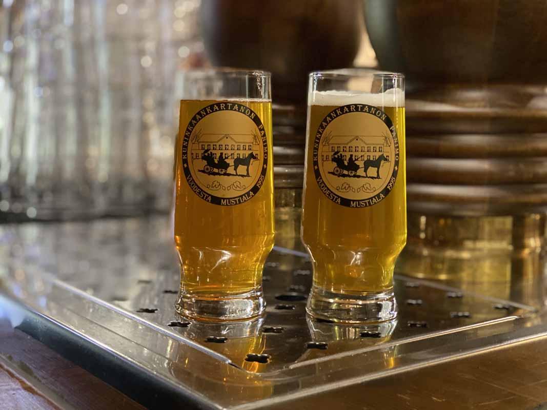 olut Kuninkaankartanon Panimo beer ale pils