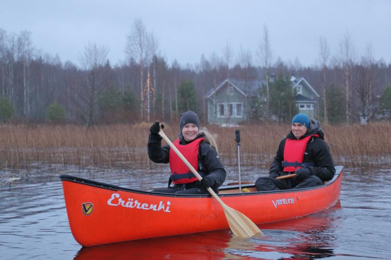 Ne Tammelat Erärenki kanootti Turpoonjoki