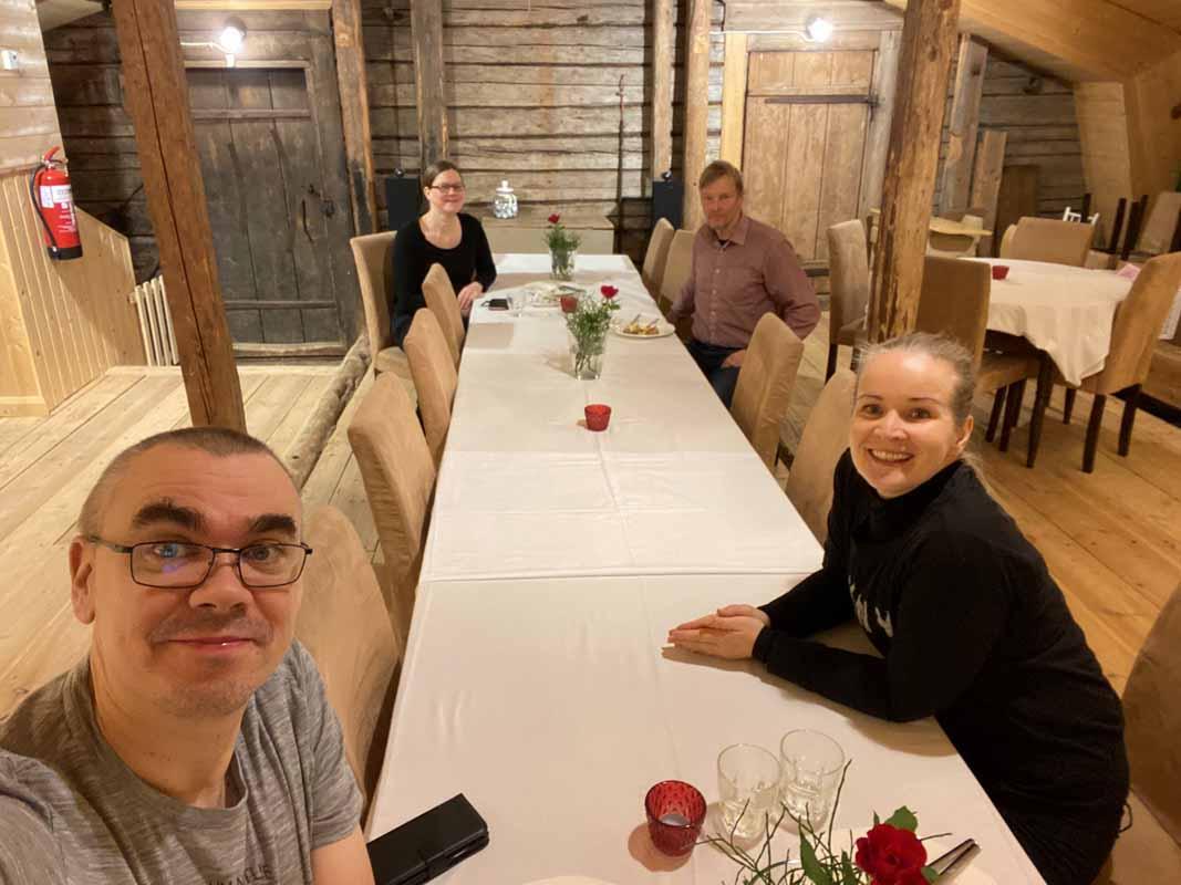 Ne Tammelat Johanna Pelto-Huikko Kari Tikka Portaan Nahkurinverstas