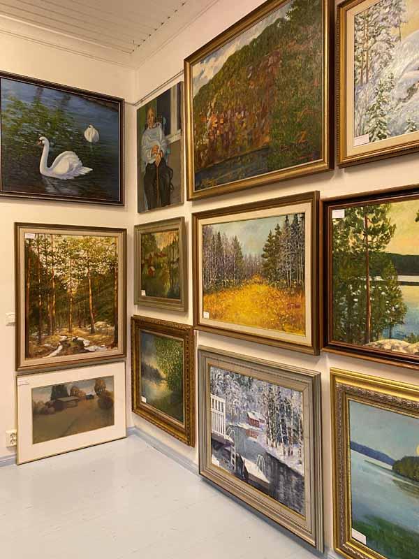 Eero Leppänen Galleria Ateljee Jokitörmä Porras Tammela