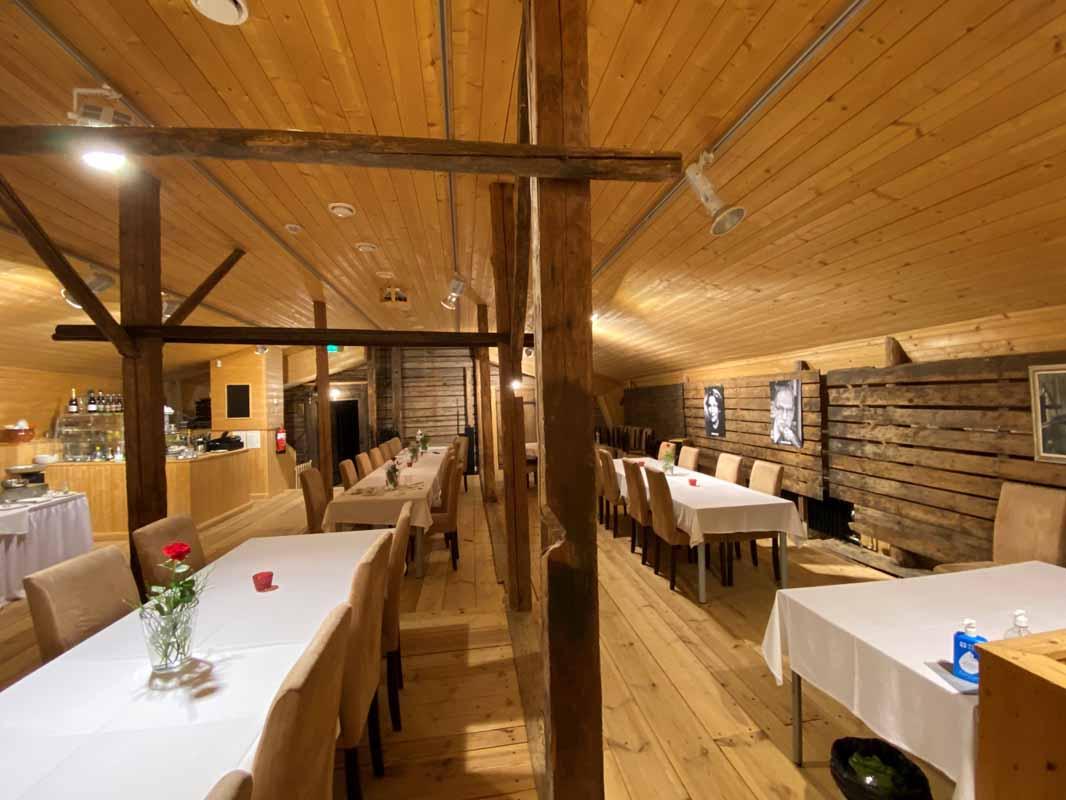 Portaan Nahkurinverstas ravintola restaurant