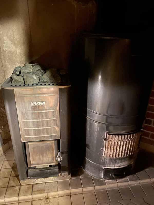 Harvia Aitokiuas Portaan Nahkurinverstas sauna