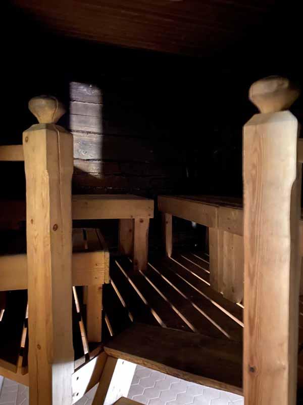 sauna Portaan Nahkurinverstas