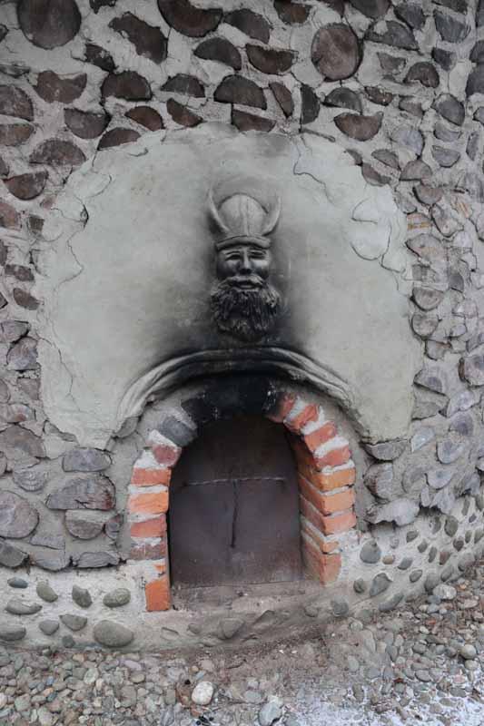 viikinki reliefi Viikinkisauna savusauna sauna