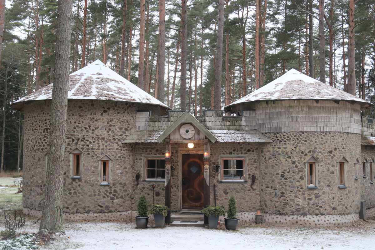 Viikinkisauna viikinki sauna Urpolan Kartano Humppila