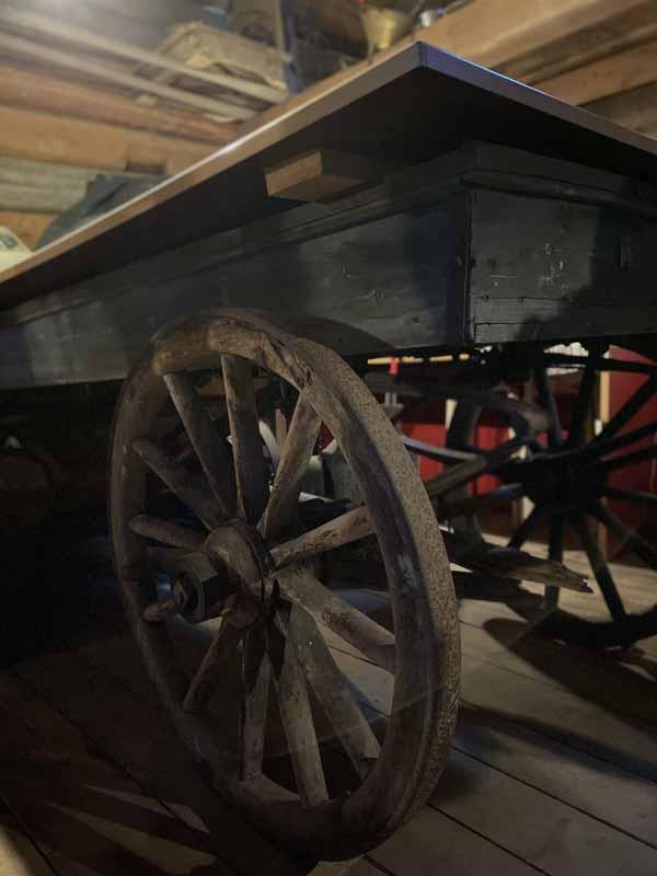 evakkovankkurit vankkurit evakko museoesine Riihipub Paija Paijan maatilamajoitus