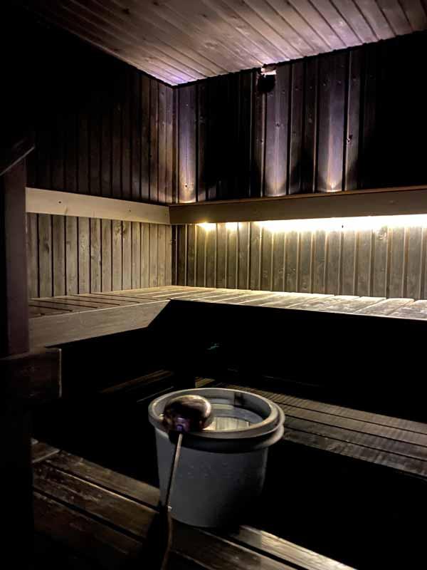 sauna perhesauna Paija Paijan maatilamajoitus