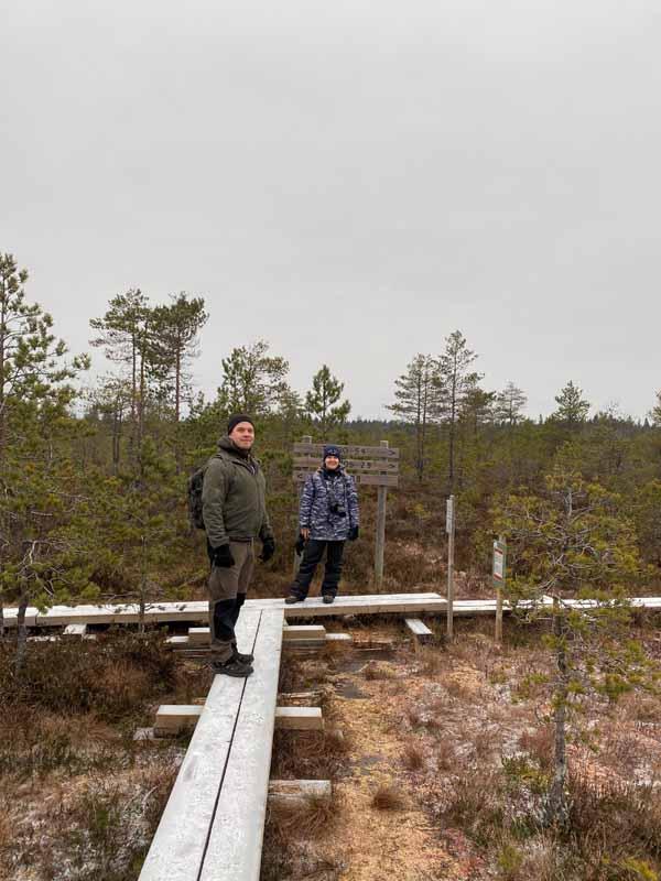 Wilderness Tales Tomi Torronsuo kansallispuisto suo