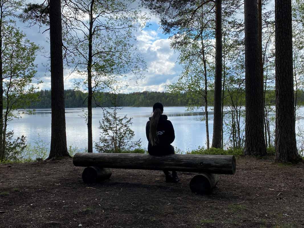 Katri Pääjärven virkistysalueella