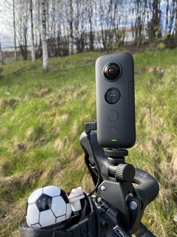 360-kameran pyöräkiinnitys