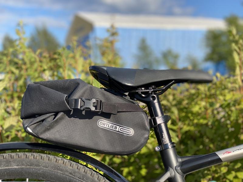 Ortlieb satulalaukku polkupyörään
