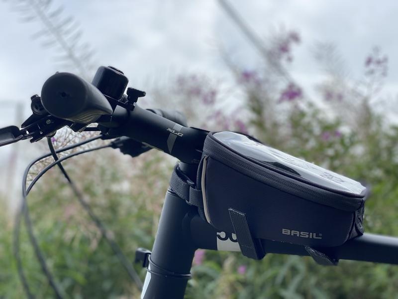 Kotelo kännykälle ja pikkutavaralle polkupyörään